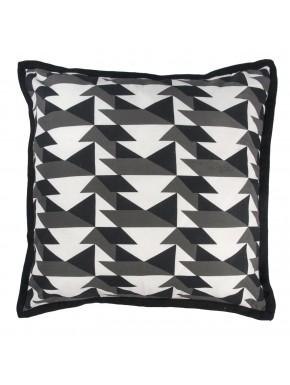 Cushion PIED DE POULE Grey