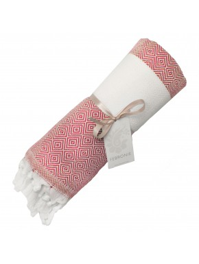 Fouta Diamond Courchevel - Red