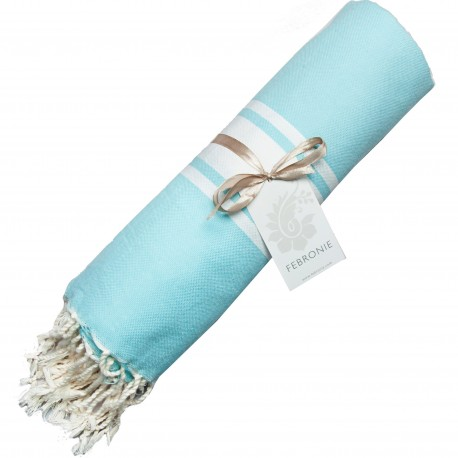 Fouta Traditional - Aqua