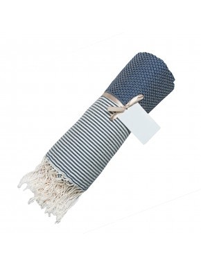 Fouta Honeycomb - Denim Blue