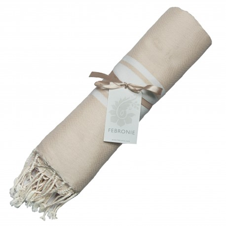 Fouta Traditionnelle - Sable