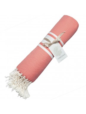 Fouta Traditional - Coral