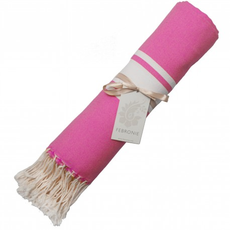 Fouta Traditionnelle - Rose Malabar