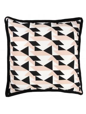 Cushion PIED DE POULE pink