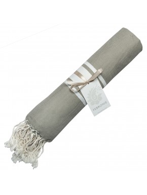Fouta Traditionnelle - Taupe Clair
