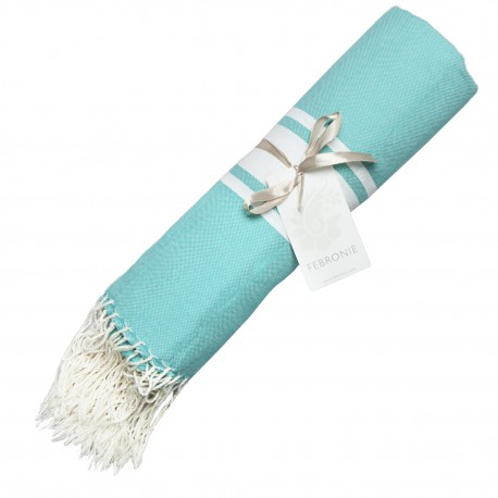Fouta Traditionnelle - Turquoise