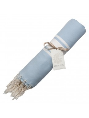 Fouta Traditional - Light Blue