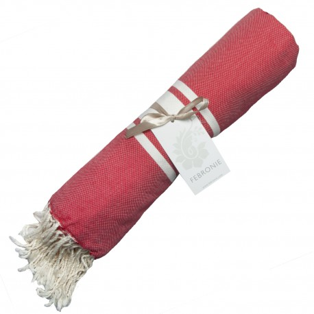 Fouta Traditionnelle - Rouge